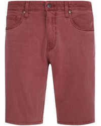 PAIGE - Federal Slim Fit Shorts - Lyst