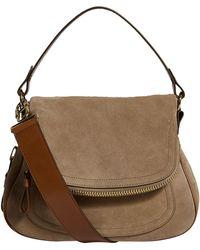 Tom Ford - Medium Suede Jennifer Cross Body Bag - Lyst c572b66eee508