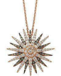 Bee Goddess - Star Light Hendecagram Necklace - Lyst