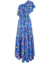 Lazul - Silk Lucia Tiered Dress - Lyst