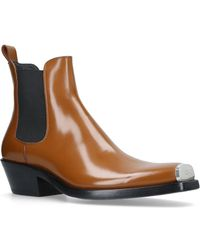 CALVIN KLEIN 205W39NYC - Chris Western Chelsea Boots - Lyst