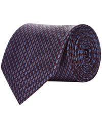Pal Zileri - Geometric Diamond Silk Tie - Lyst