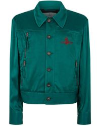 Vivienne Westwood - Satin Bomber Jacket - Lyst
