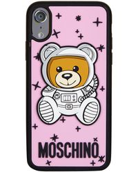 Moschino - Space Teddy Iphone X Case - Lyst