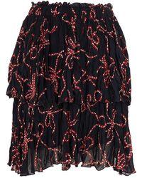 Pinko - Ruffle Skirt - Lyst