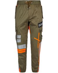 Dolce & Gabbana - Tape Detail Cargo Trousers - Lyst
