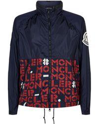 138ad5e17564 Moncler Deydier Jacket in Blue for Men - Lyst