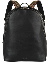 Paul Smith - Leather Oval Backpack - Lyst