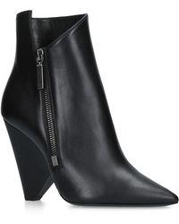 Saint Laurent - Niki Ankle Boots 105 - Lyst