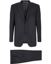 Canali - Wool Two-piece Suit - Lyst