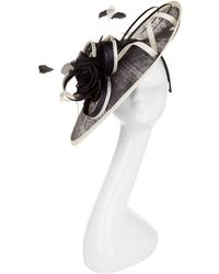 Peter Bettley - Rose Trim Two-tone Fascinator Hat - Lyst