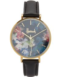 Harrods - Floral Printed Collection Watch - Lyst