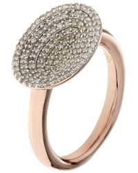 Links of London - Diamond Essentials Concave Ring - Lyst