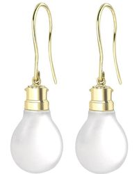 Theo Fennell - Light Bulb Drop Earrings - Lyst