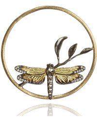 Annoushka - Hoopla Dragonfly Diamond Pendant - Lyst