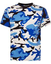 Sandro - Camouflage Printt-shirt - Lyst