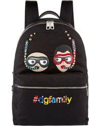 Dolce & Gabbana - Dg Family Snorkel Backpack - Lyst