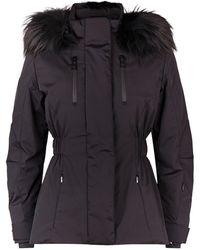 Fendi - Fur Trim Ski Jacket - Lyst
