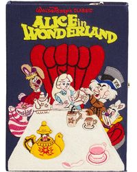 Olympia Le-Tan - Alice In Wonderland Book Clutch Bag - Lyst