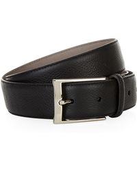 Harrods - Grain Leather Belt - Lyst