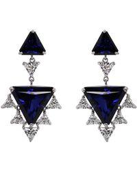 Carat* - Sylix Sapphire Cocktails Drop Earrings - Lyst