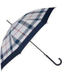 Barbour - Summer Tartan Umbrella - Lyst