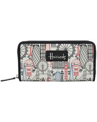 Harrods | Balloons And Bicycles Wallet, White | Lyst