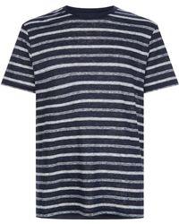 J.Lindeberg - Coma Striped T-shirt - Lyst