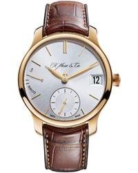 H. Moser & Cie - Endeavour Perpetual Calendar Watch 40.8mm - Lyst
