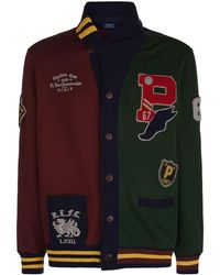 Polo Ralph Lauren - Patched Cardigan - Lyst