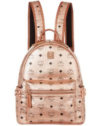 MCM - Small Embellished Stark Backpack - Lyst