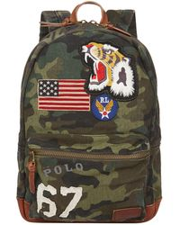 Ralph Lauren - Military Camouflage Backpack - Lyst
