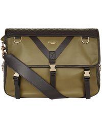 Balmain - Nomade Leather Messenger Bag - Lyst