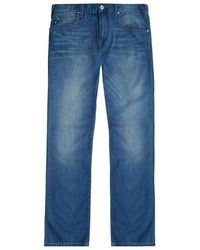 Armani Jeans - Slim-fit Washed Jeans - Lyst
