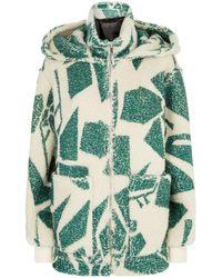 Burberry - Cashmere-silk Fleece Hoodie - Lyst