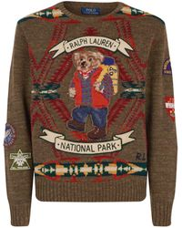 Polo Ralph Lauren - Polo Bear National Park Jumper - Lyst