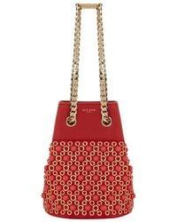 Elie Saab - Small Embellished Bucket Bag - Lyst