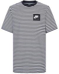 Nike - Striped Air T-shirt - Lyst