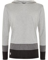 Homebody - Striped Lounge Hoodie - Lyst