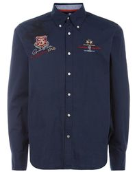 La Martina - Poplin Long Sleeve Shirt - Lyst