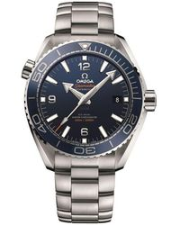 Omega - Seamaster Planet Ocean Automatic Watch - Lyst