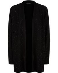 Eileen Fisher - Sequin Embellished Cardigan - Lyst