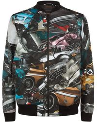 Christopher Kane - Car Crash Bomber Jacket - Lyst