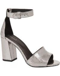 Claudie Pierlot - Arius Metallic Sandals - Lyst