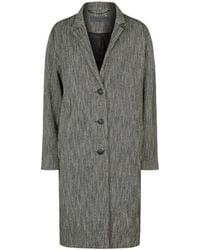 Rag & Bone - Mica Twill Blanket Coat - Lyst
