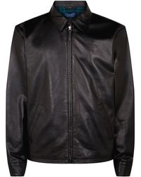Polo Ralph Lauren - Leather Jacket - Lyst
