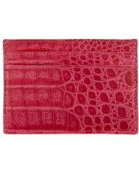 Nancy Gonzalez - Crocodile Card Holder - Lyst