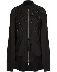 Elie Saab - Sequin Embroidered Cape - Lyst