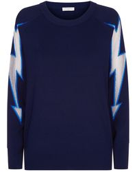 Sandro | Lightning Bolt Sweater | Lyst