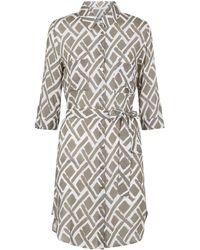 Heidi Klein - Cote D'azur Relaxed Shirt Dress - Lyst
